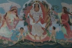 25 Die Göttin Demeter Wandmalerei 1975