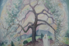 62 Blütenbaum Öl 1981
