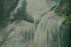9 Gebirgsbach Öl 1980