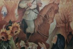 """72 Erntestimmung (aus """"Der verrostete Ritter"""") Aquarell"""
